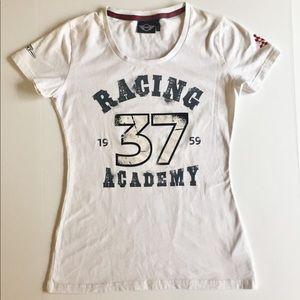 Mini Cooper BMW Racing Academy Logo Tee Shirt